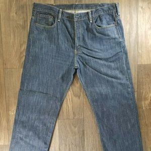 Levis 569 38x32 Blank Red Tab Tab Men's Jeans Blue